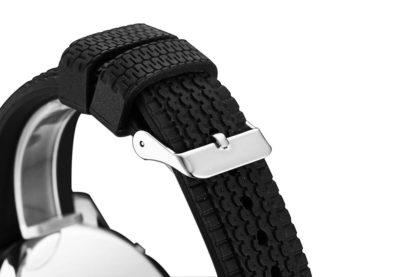 Montre espion avec bracelet noir