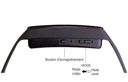 Bracelet caméra espion tactile 4